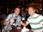 My brother and me at Raglan Road enjoying a Pint!