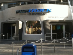 Doorway into Test Track